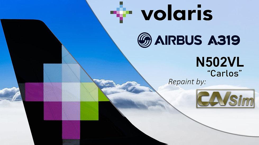 Airbus A319-133 Volaris 'Carlos' 'N502VL'