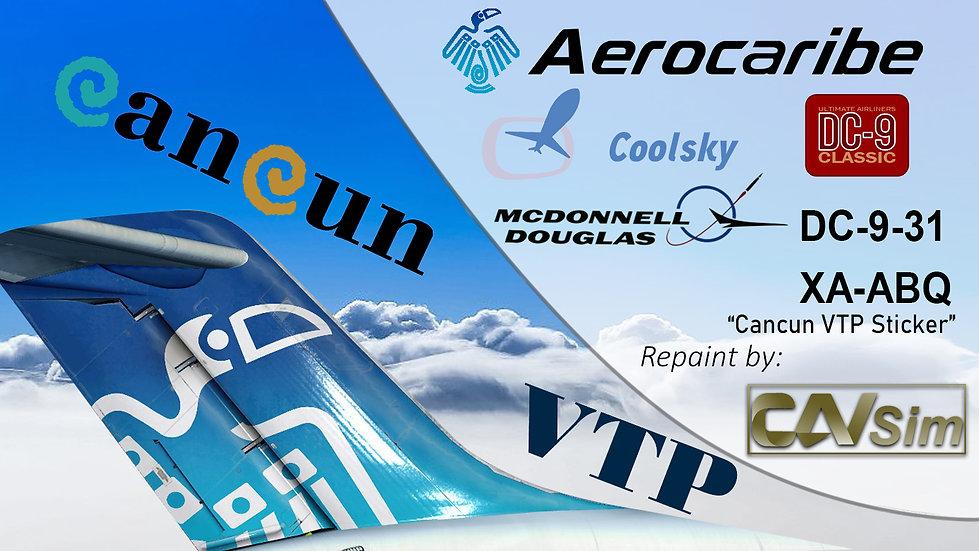 McDonnell Douglas DC9-31 Aerovias Caribe SA de CV 'Yucateca' 'XA-ABQ'