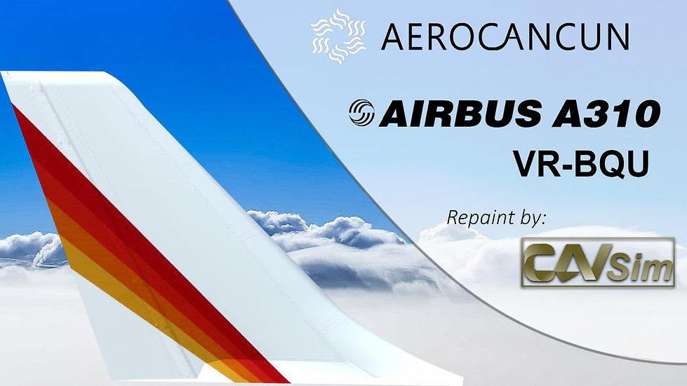 Airbus A310-304R Aerocancun 'Air Europe Hibrid Livery' 'VR-BQU'