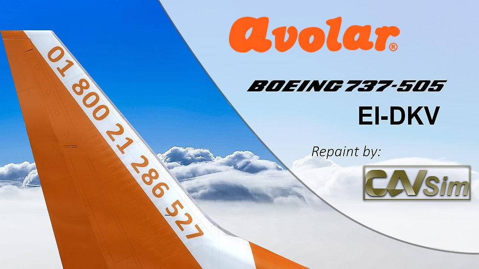 Boeing 737-505 Avolar 'EI-DKV'