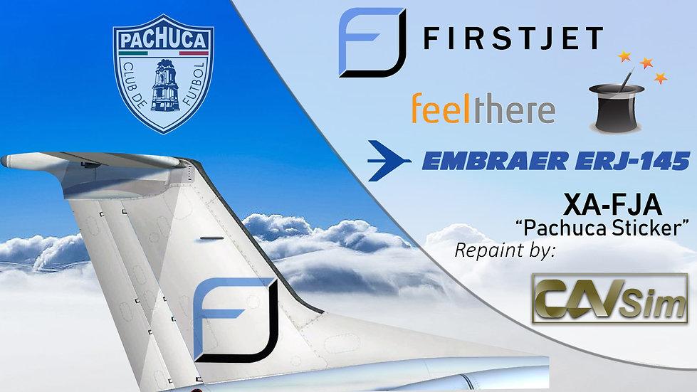 Embraer ERJ-145LR Compañía Ejecutiva SA de CV 'FirstJet' 'Pachuca' 'XA-FJA'