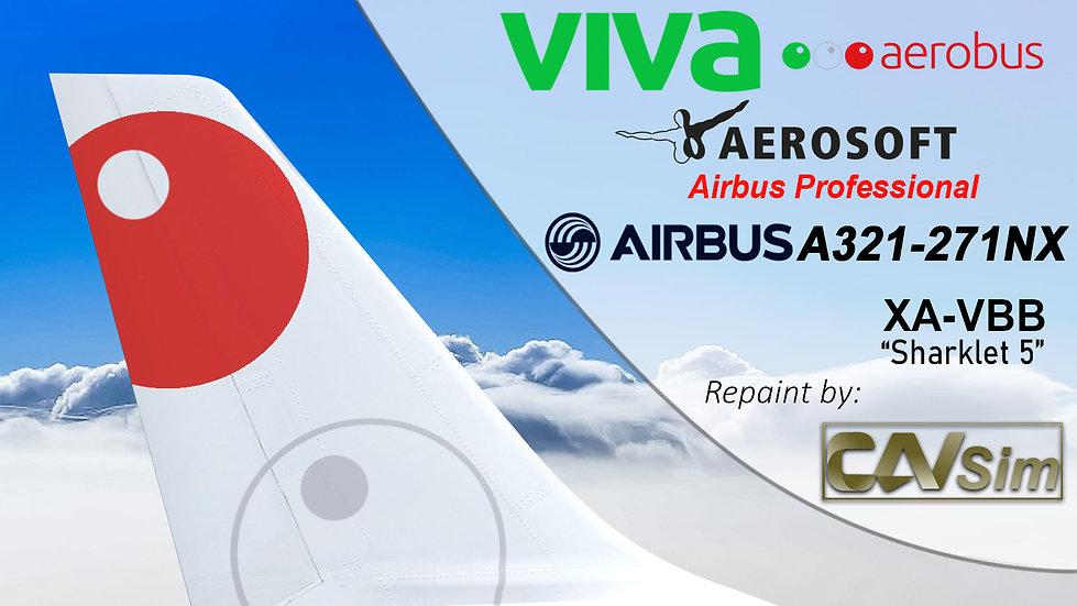 A321-271NX-SK Aeroenlaces Nacionales - VivaAerobus 'XA-VBB'