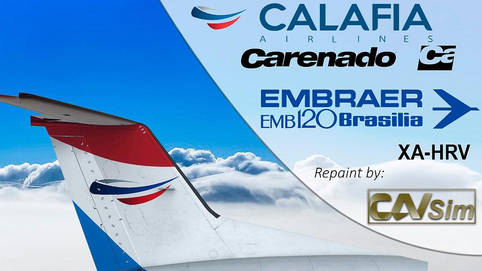 Embraer Aircraft EMB-120ER Calafia Airlines S.A. 'XA-HRV'