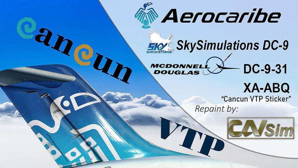 McDonnell Douglas DC-9 31 Aerovias del Caribe 'Aerocaribe' 'Yucateca' 'XA-ABQ'