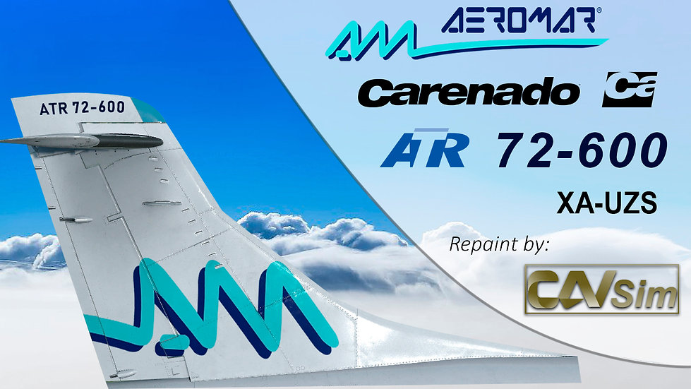 Avions de Transport Regional ATR 72-600 Aeromar 'Last Livery' 'XA-UZS'