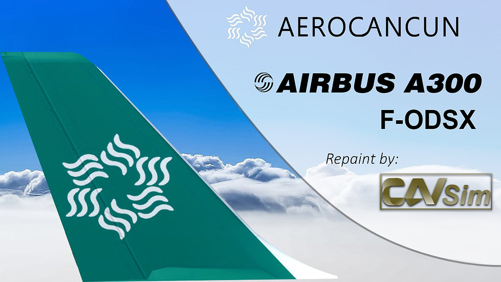 Airbus A300B4-622R Aerocancun Charter 'Last Livery''F-ODSX'