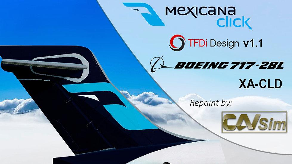 Boeing 717-2BL Mexicana Click 'XA-CLD'
