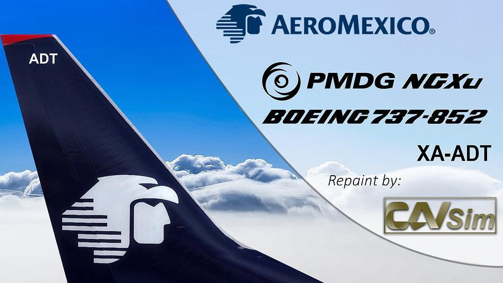 B737-852(SSW) Aeromexico 'Last Livery' 'XA-ADT'