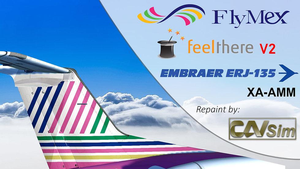 Embraer ERJ-135LR Servicios Integrales de Aviación S.A. de C.V. FlyMex XA-AMM