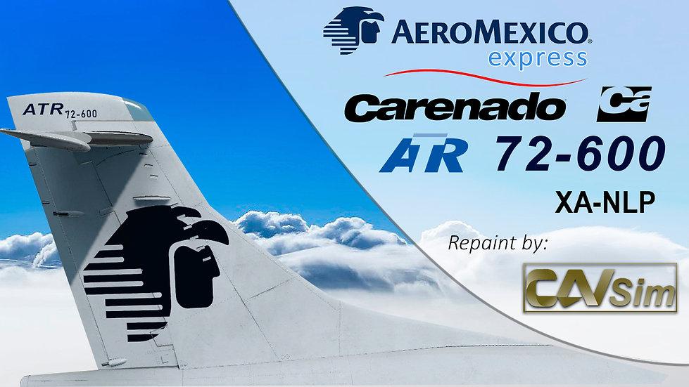 Avions de Transport Regional ATR 72-600 Aeromexico Express 'XA-NLP' Ca