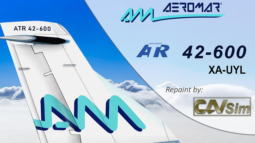 ATR 42--600 Aeromar 'Last Livery' 'XA-UYL'