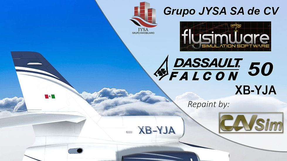 Dassault Aviation Falcon 50 Grupo JYSA SA de CV 'XB-YJA'