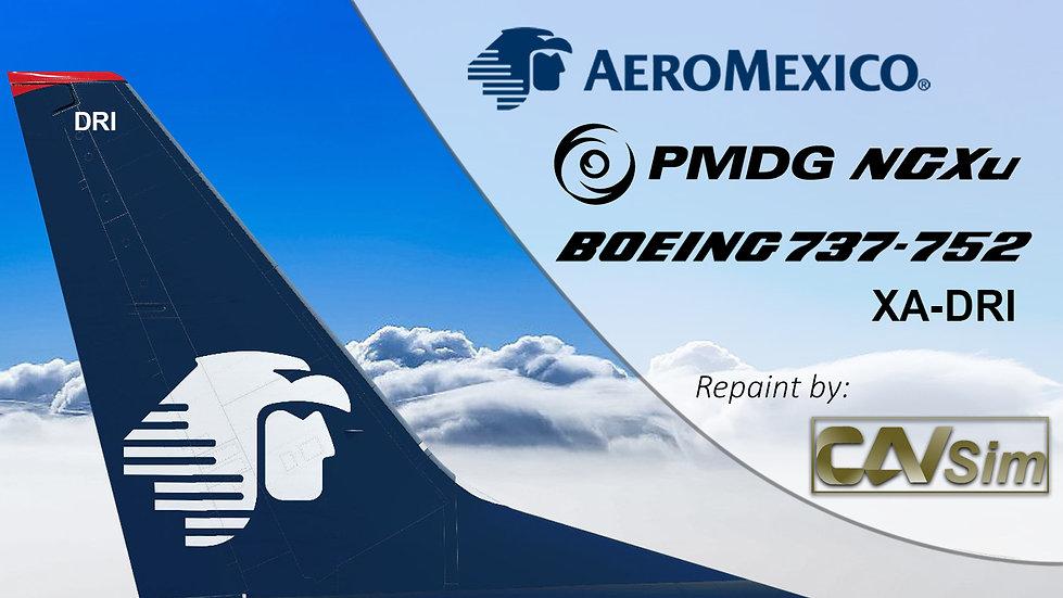 B737-752(BW) AeroMexico Last Livery 'XA-DRI'