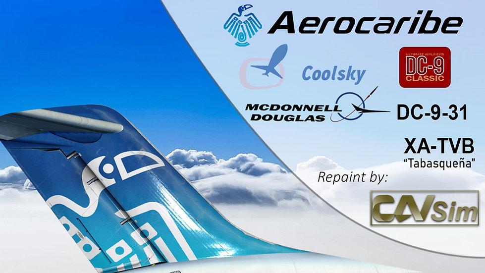 McDonnell Douglas DC9-31 Aerovias Caribe SA de CV 'Tabasqueña' 'XA-TVB'