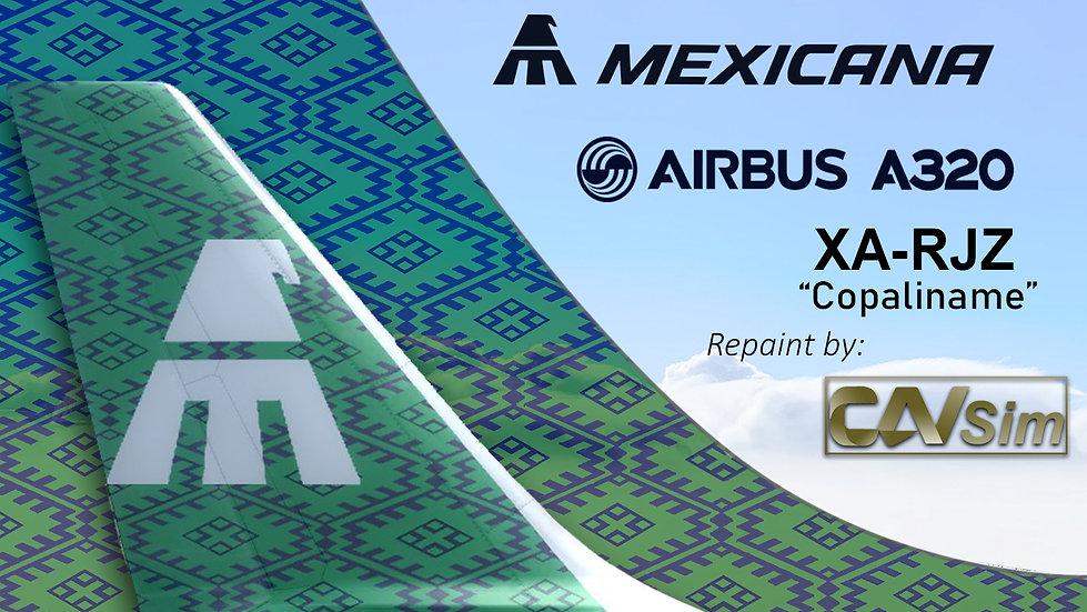Airbus A320-231 Mexicana 'Copaliname' 'XA-RJZ'