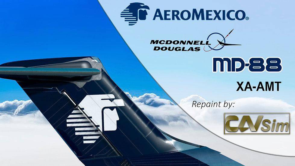 McDonnell Douglas MD-88 Aeromexico 'Last Livery' 'XA-AMT'