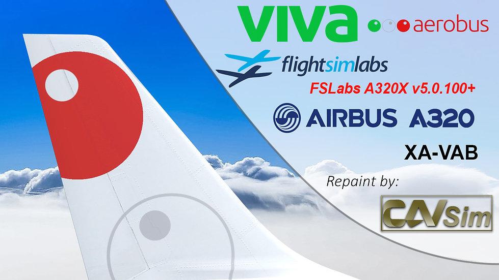 A320-232 (WT) VivaAerobus 'Last Livery' 'XA-VAB' CN: 2661