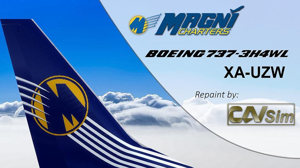 Boeing 737-3H4(WL) Magnicharters 'Last Livery' 'XA-UZW'