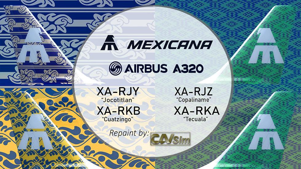 Pack No. 14 A320-231 El Cielo Nunca se ha visto Mejor Vol. 4