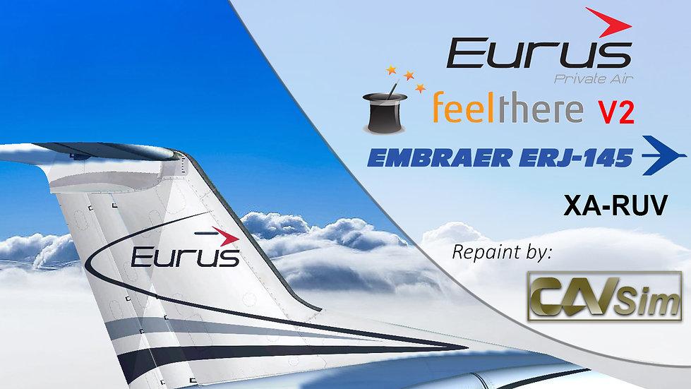 Embraer ERJ-145LR Eurus Aviation Mexico SA de CV 'XA-RUV'