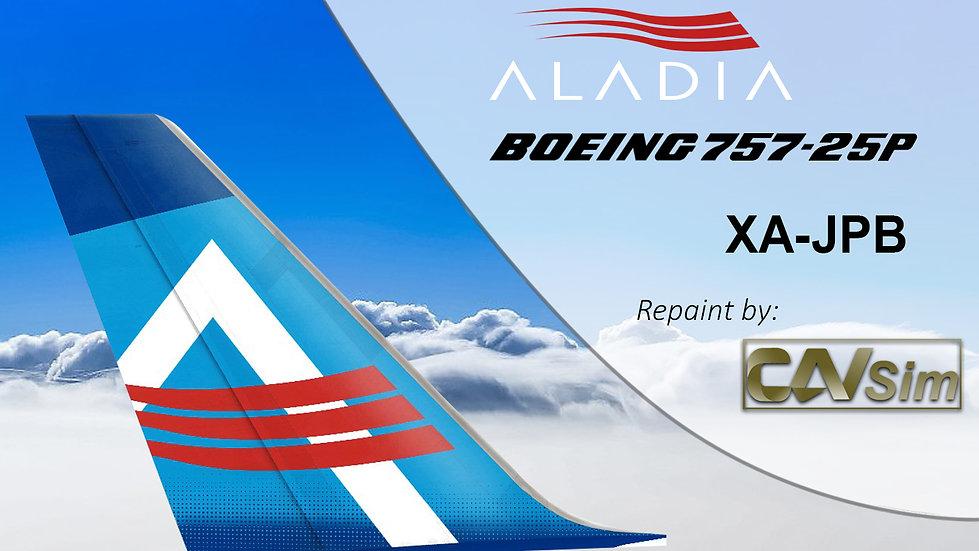 Boeing 757-25F (PCF4D) Aladia XA-JPB