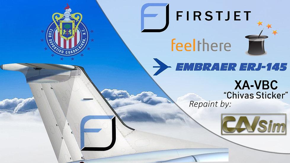 Embraer ERJ-145LR Compañía Ejecutiva SA de CV 'FirstJet' 'Chivas' 'XA-VBC'