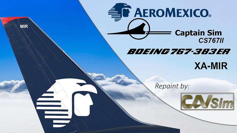B767-383ER Aeromexico Last Livery XA-MIR