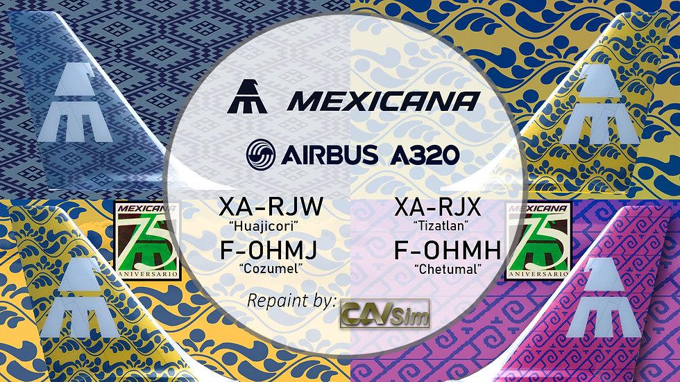 Pack No. 13 A320-231 El Cielo Nunca se ha visto Mejor Vol. 3