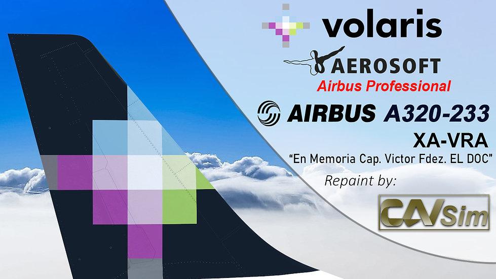 A320-232SL(SK) Volaris 'In Mem Cap. Victor Fdz Azcarate EL DOC'
