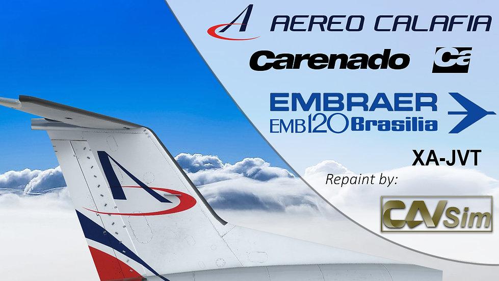 Embraer Aircraft EMB-120ER Aero Calafia S.A. 'XA-JVT' Ca