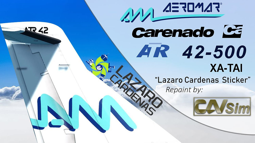 Avions de Transport Regional ATR42-500 Aeromar 'Cd. Lázaro Cárdenas' 'XA-TAI'