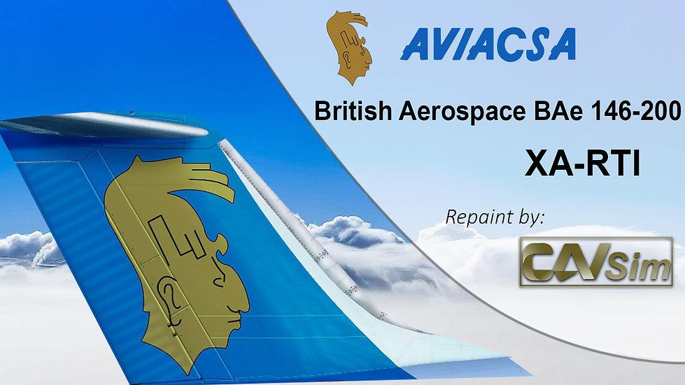 British Aerospace BAe 146-200 Aviacsa 'XA-RTI'