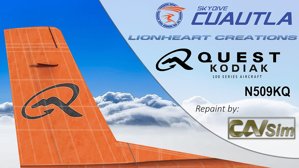 Quest Aircraft Kodiak 100 Grupo de Paracaidismo Skydive Cuautla AC 'N509KQ