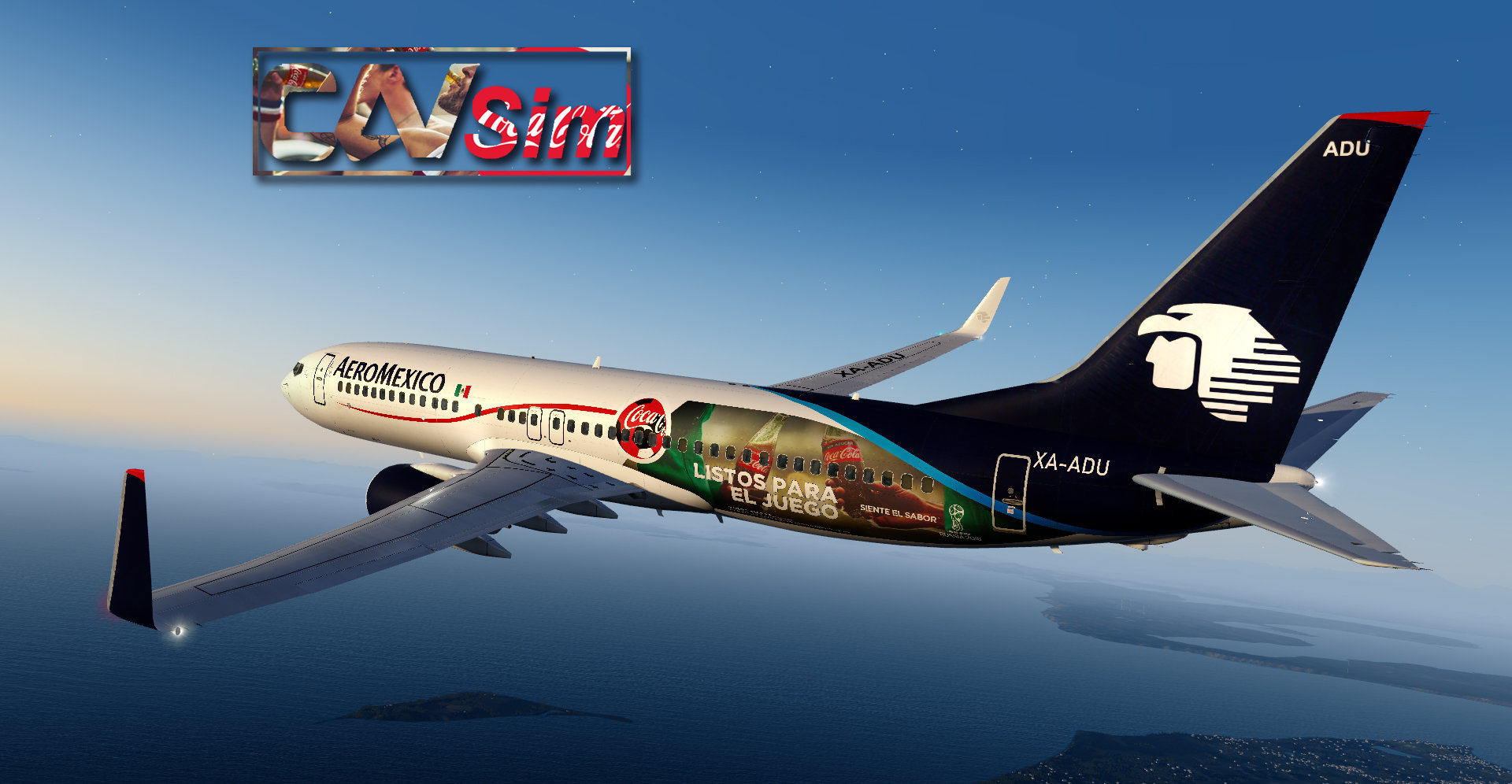 Pack Boeing No  23 Aeromexico B737-800WL 'Special Liveries' Vol 4