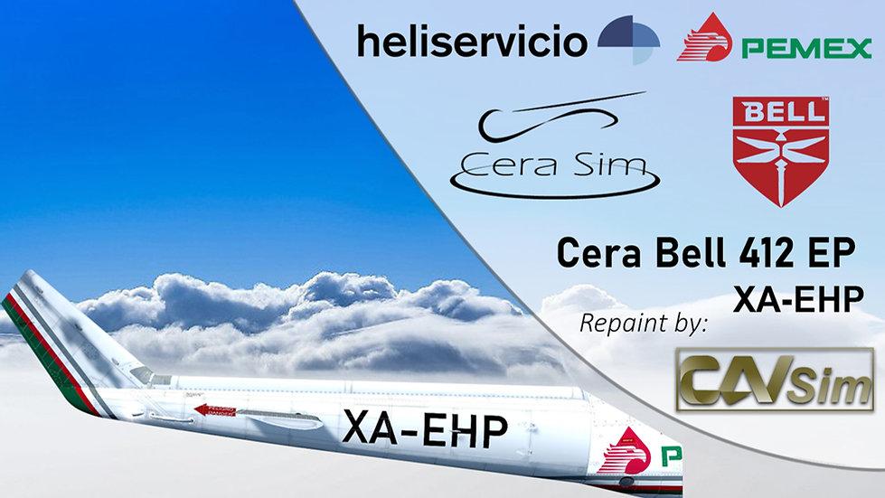 Bell 412 EP Heliservicio Campeche SA de CV 'Operated by Pemex' 'XA-EHP'