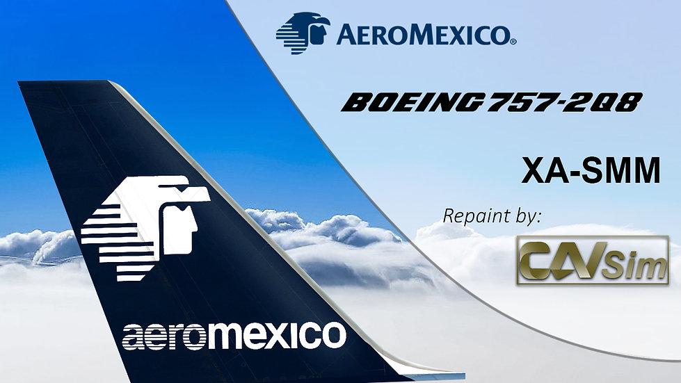Boeing 757-2Q8 (4D) Aeromexico Circa 1990 XA-SMM