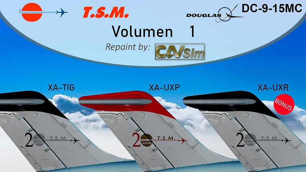 Pack No. 41 Douglas DC9-15F Aeronaves TSM Vol. 1