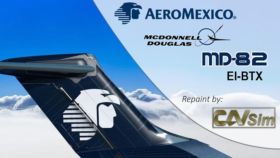 MDD MD-82 Aeromexico '90s Livery' Flat Tail  'EI-BTX'