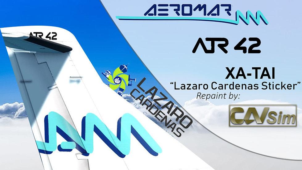 ATR 42-500 Aeromar 'Cd. Lázaro Cárdenas' 'XA-TAI'