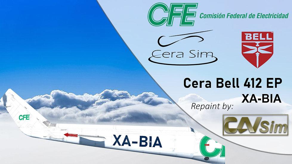 Bell 412 EP Heliservicio Campeche SA de CV 'Operated by CFE' 'XA-BIA'