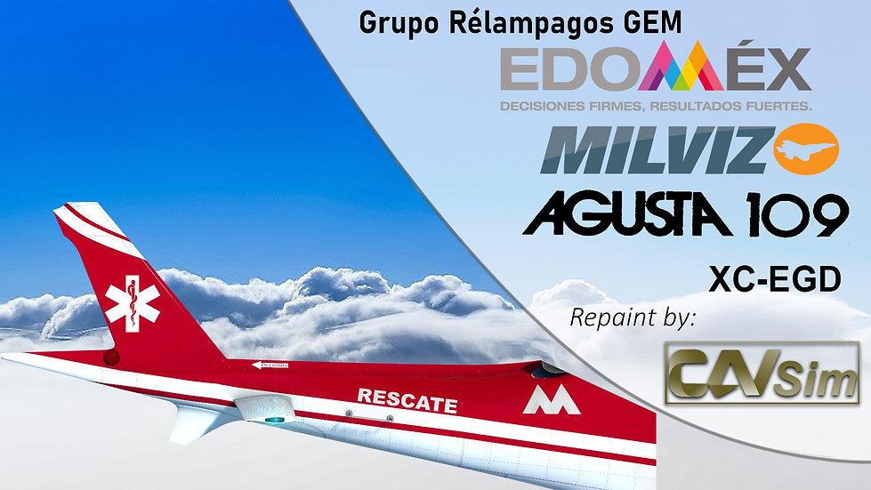 Leonardo Aerospace AW109SP Grand Grupo Relampagos GEM 'XC-EGD'