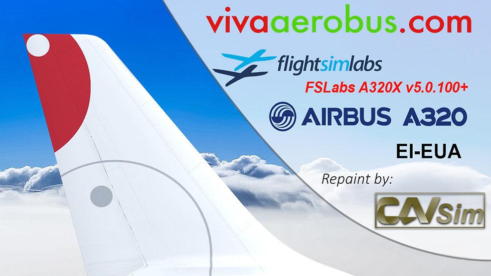 A320-232 (WT) VivaAerobus 'vivaaerobus.com' 'EI-EUA' CN: 2210