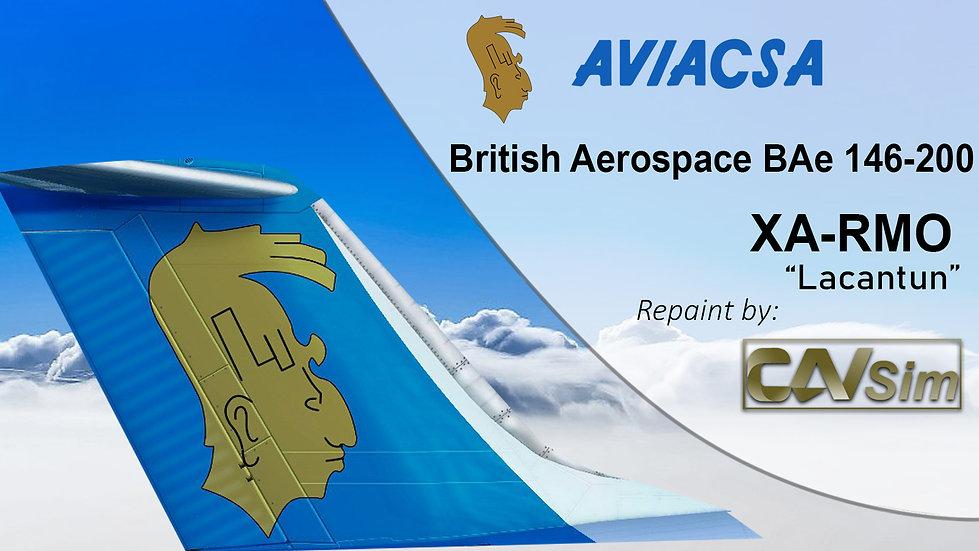 British Aerospace BAe 146-200 Aviacsa 'XA-RMO'