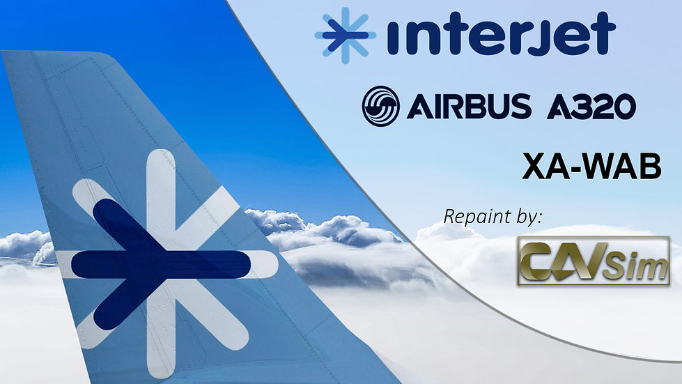 Airbus A320-214 Interjet 'XA-WAB'