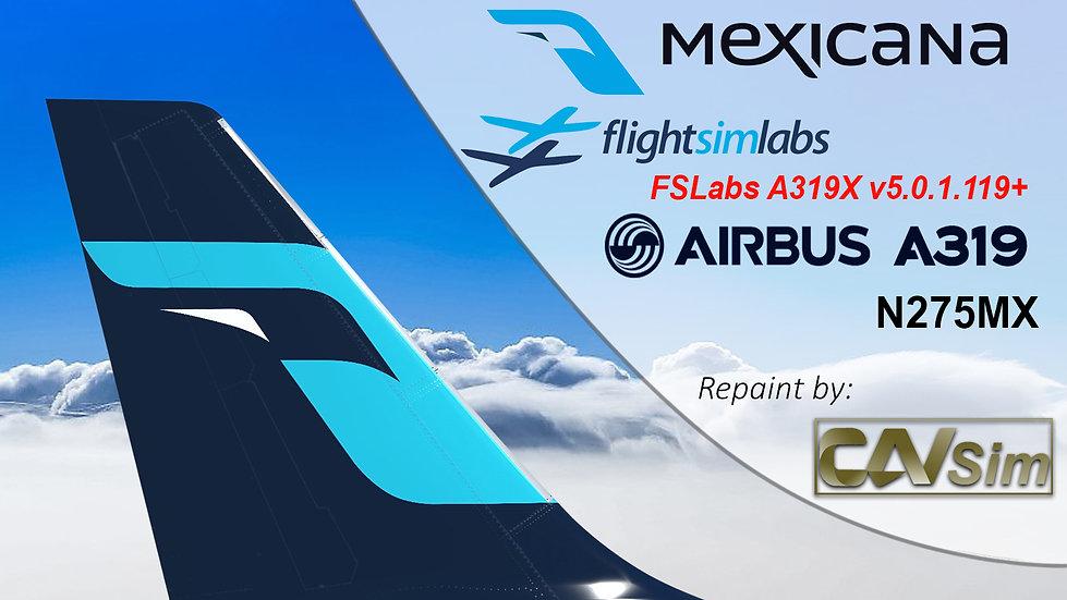 A319-112 (WT) Mexicana 'Last Livery' 'N275MX'