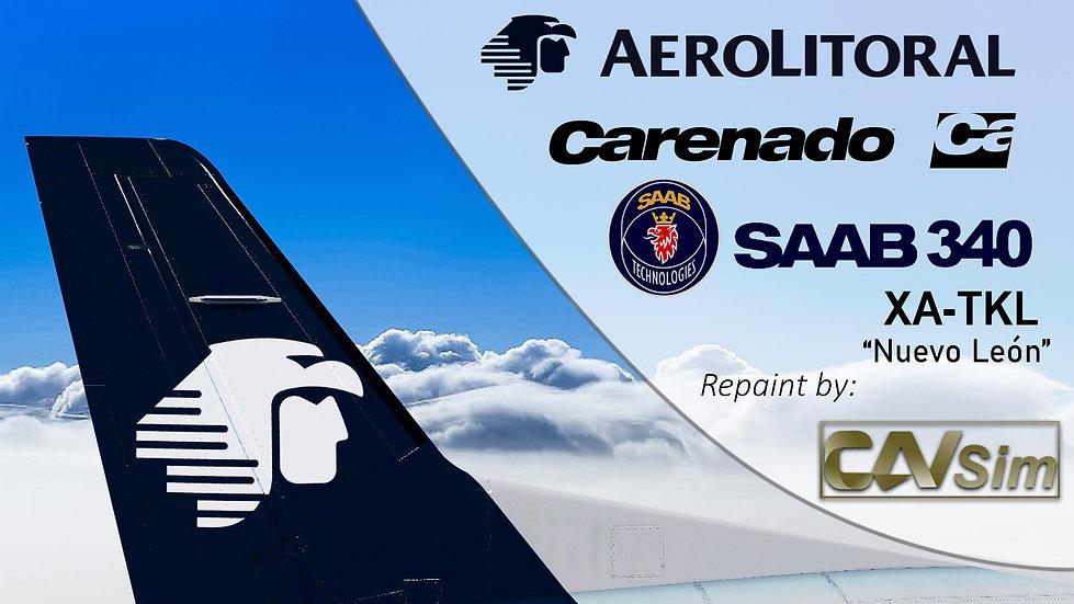 SAAB Aircraft AB SF-340B Aerolitoral SA de CV 'Nuevo Leon' 'XA-TKL'