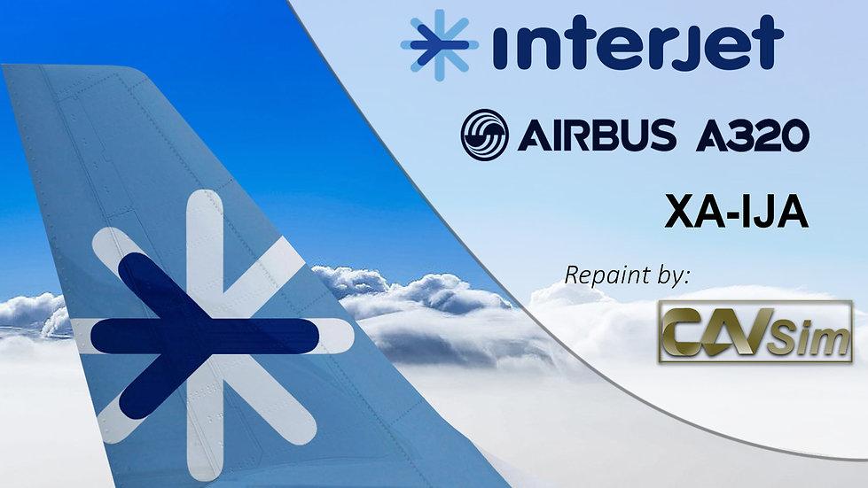Airbus A320-214 Interjet 'XA-IJA'