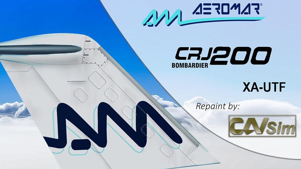 Bombardier CL-600-2B19 CRJ200ER Aeromar 'Blue Livery' 'XA-UTF'