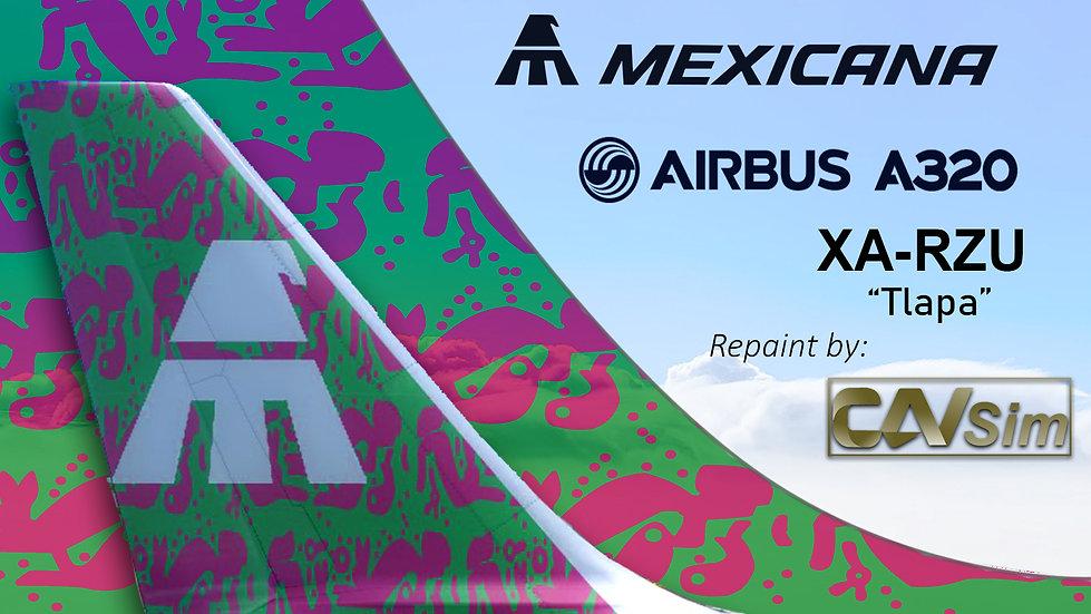 Airbus A320-231 Mexicana 'Tlapa' 'XA-RZU'