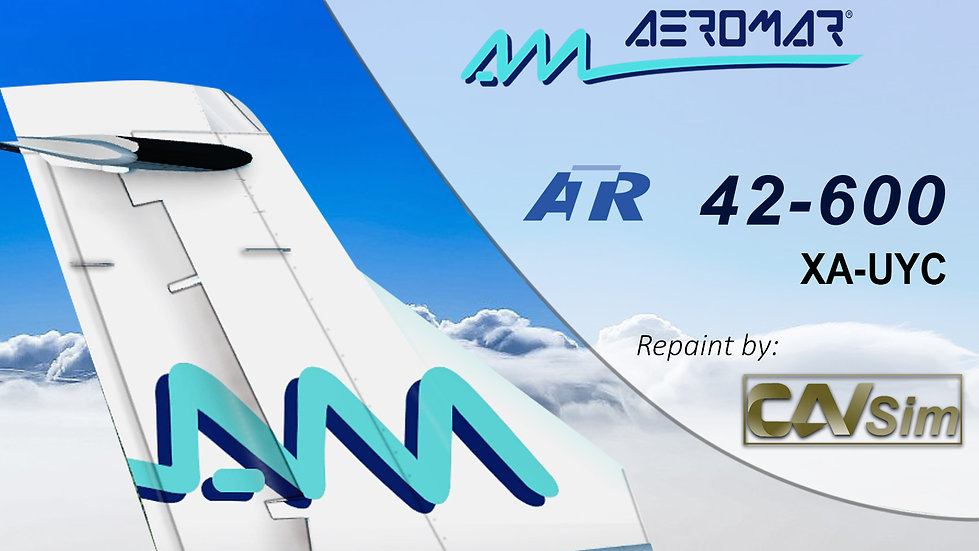 ATR 42-600 Aeromar 'White Livery''XA-UYC'